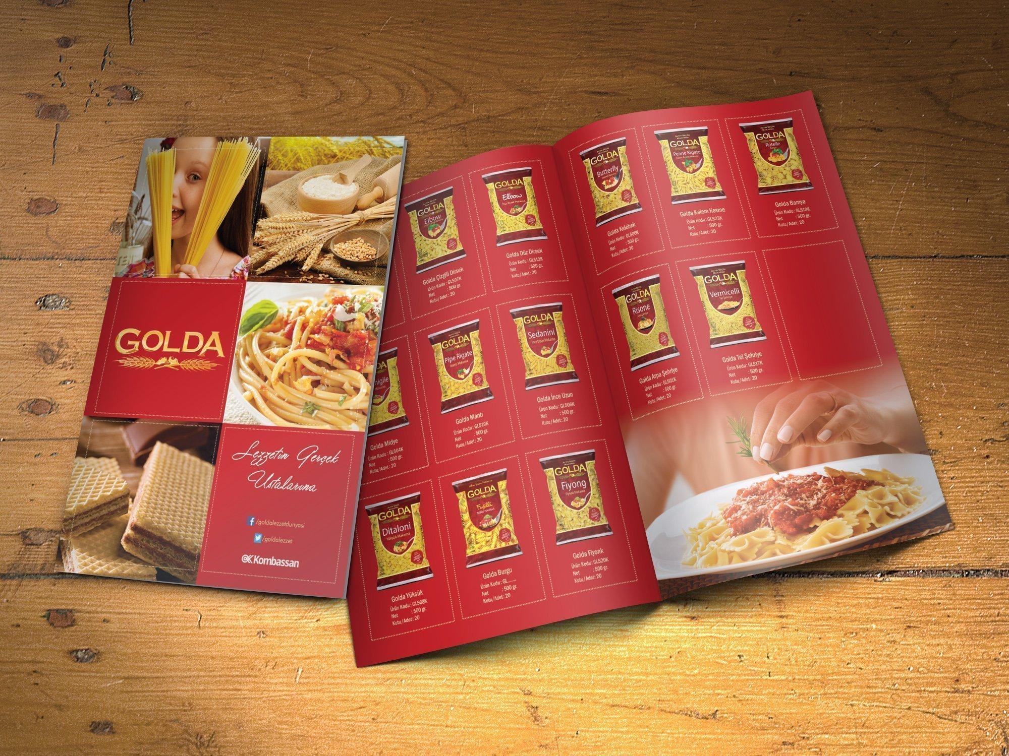 Golda Makarna Karaman Katalog