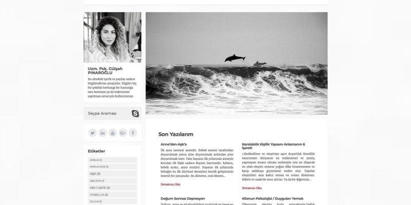 Gülşah Pınaroğlu Web Sitesi