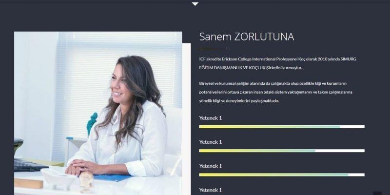Simurg Danışmanlık ve Koçluk Web Sitesi