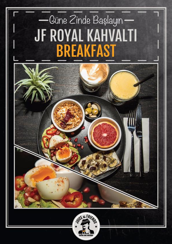 Breakfast Kahvaltı Afiş Tasarımı