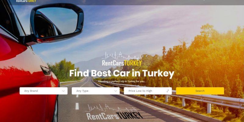 Rent a car Web sitesi