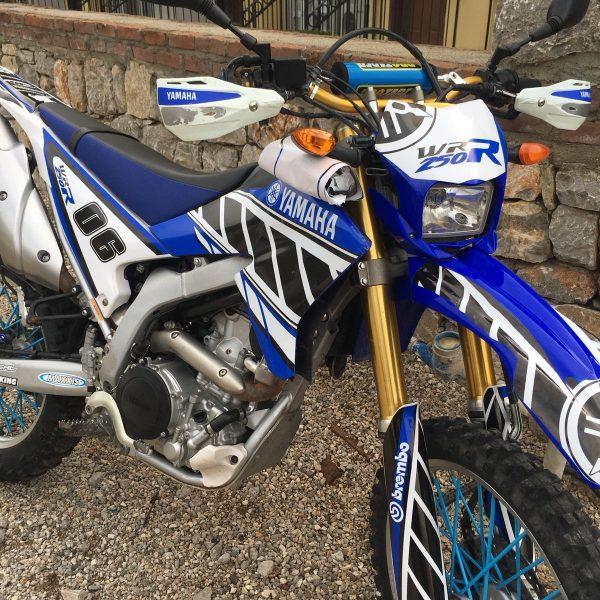 Yamaha WR 250 Sticker Seti