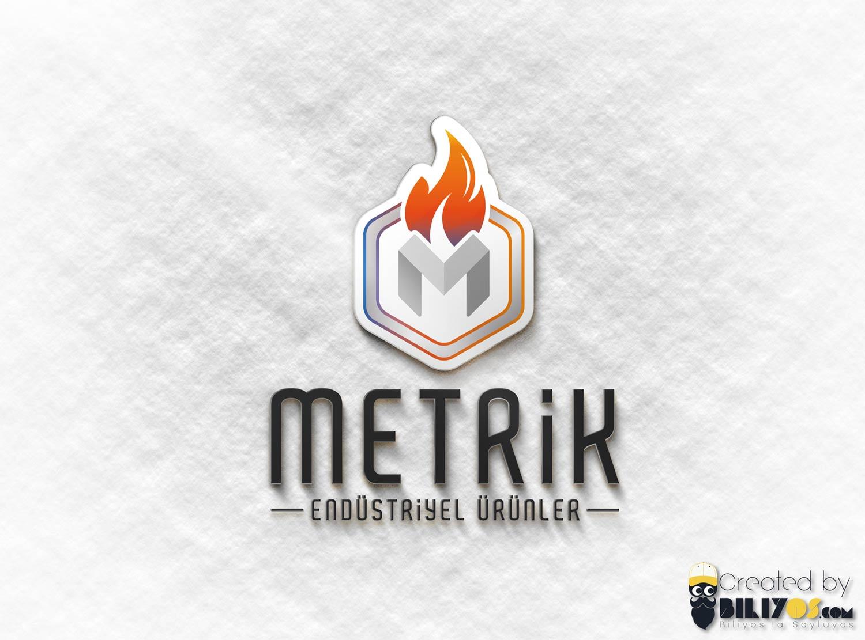Metrik Endüstriyel Logo